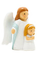 First Communion, An angel and a girl statue - Little Drops of Water