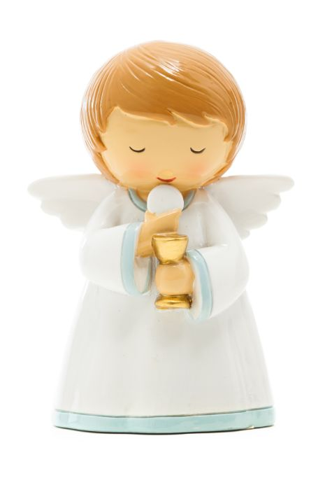 First Communion Boy Angel statue - Little Drops of Water