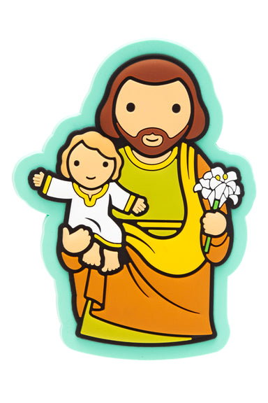 St. Joseph Fridge magnet - Little Drops of Water