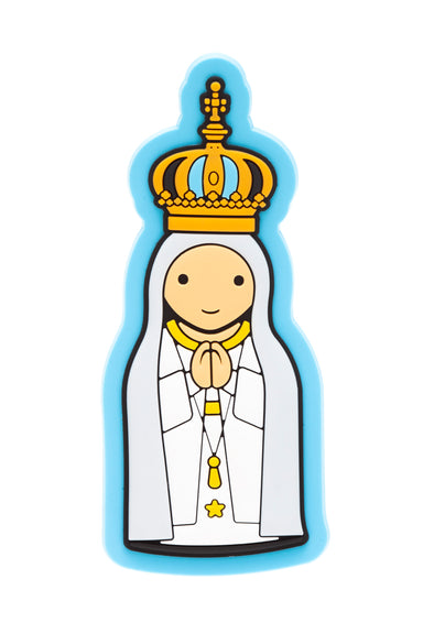 Lady of Fatima fridge magnet - Little Drops of Water