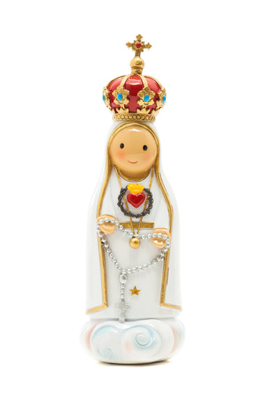 Immaculate Heart of Fatima statue - Little Drops of Water