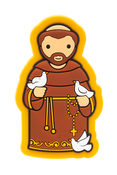 St. Francis fridge magnet - Little Drops of Water