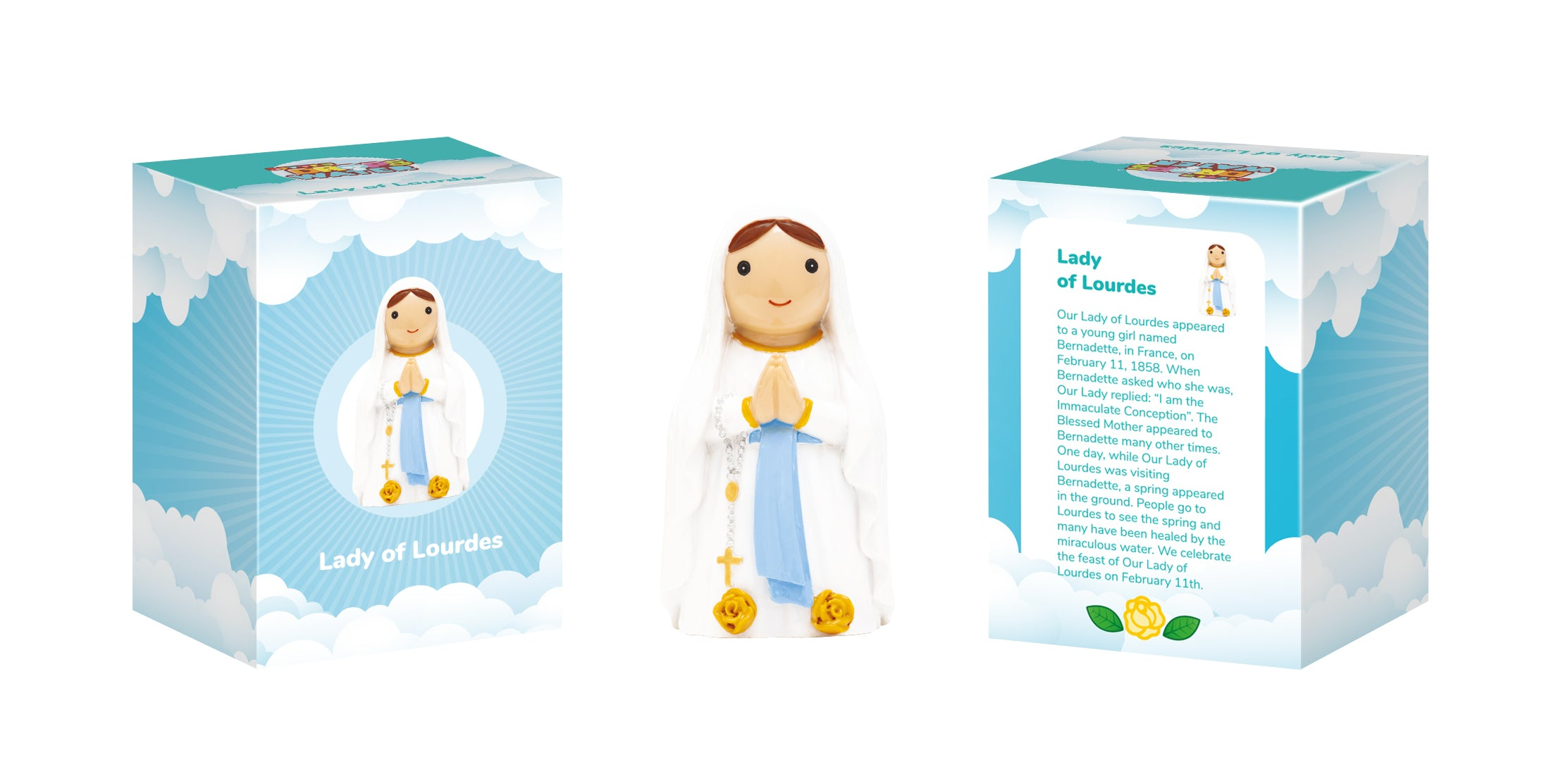 Lady of Lourdes Collectors Edition - Little Drops of Water