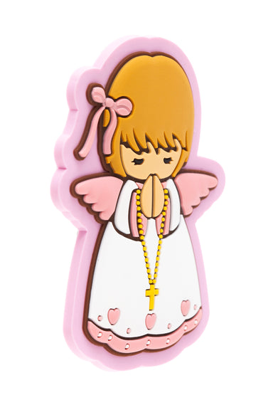 Baby girl angel fridge magnet - Little Drops of Water