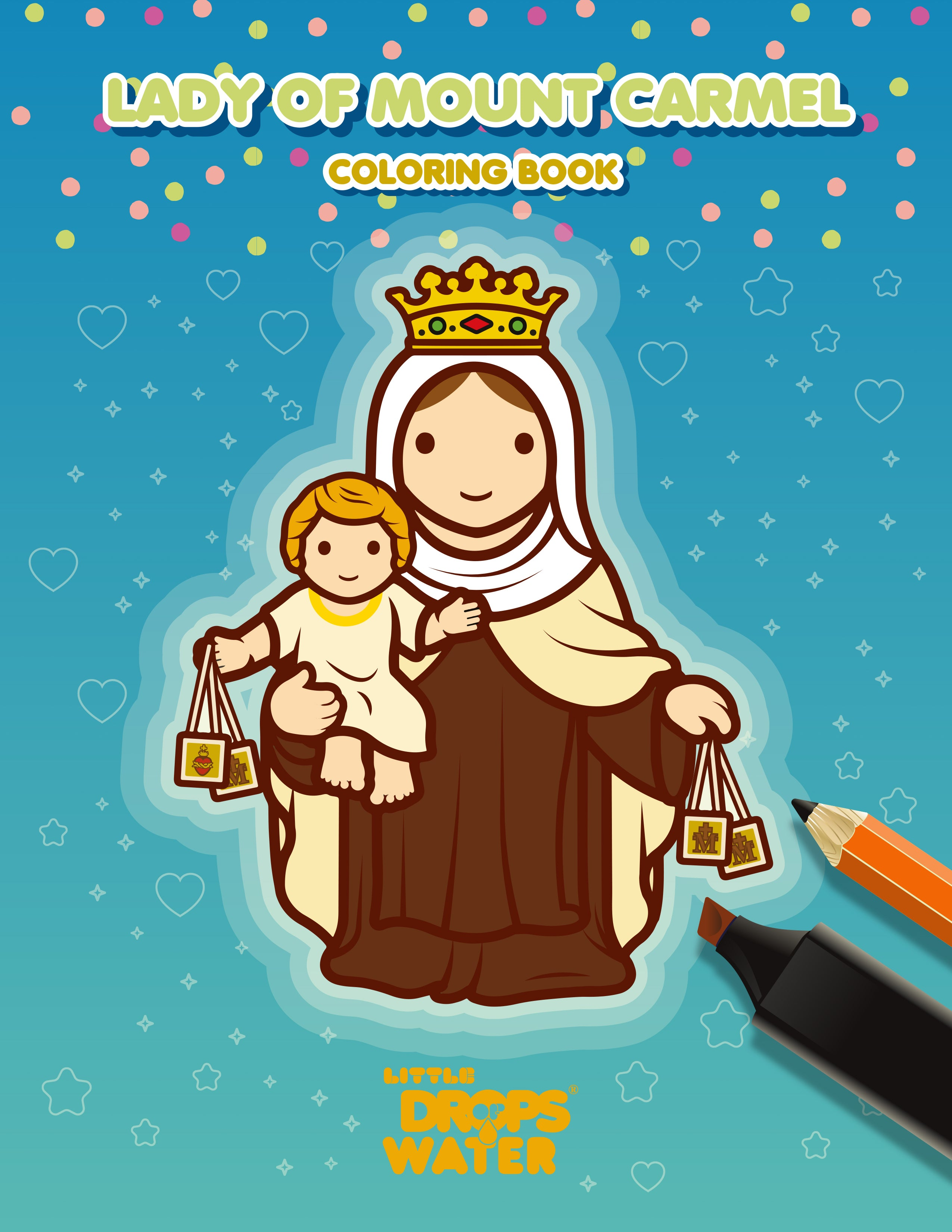 Mount Carmel colouring pages