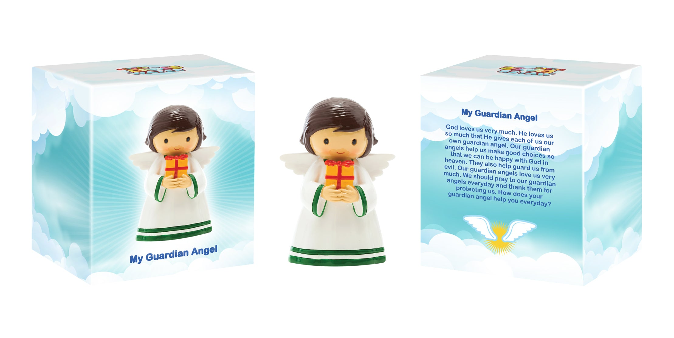 May Guardian Angel statue - Little Drops of Water