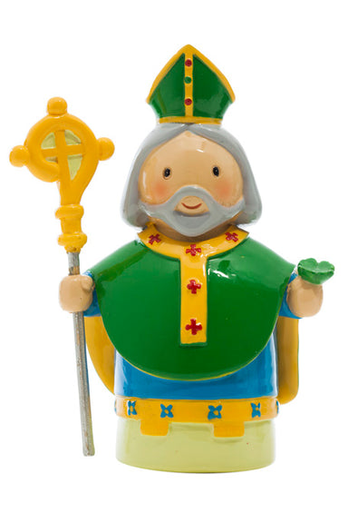 Saint Patrick statue - Little Drops of Water