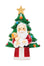 Santa holding baby Jesus with Christmas tree - Little Drops of Water