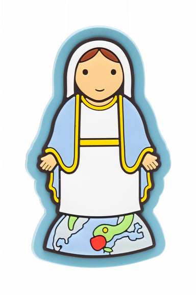 Lady of Grace fridge magnet - Little Drops of Water