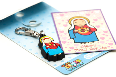 Immaculate Heart charm - Little Drops of Water
