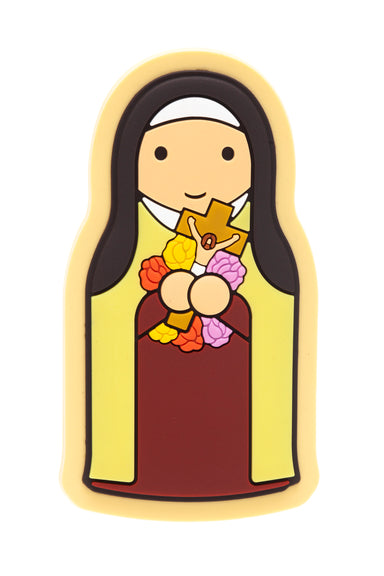 St. Therese fridge magnet - Little Drops of Water