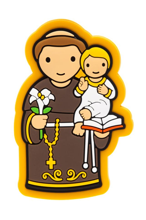 St. Anthony PVC magnet - Little Drops of Water