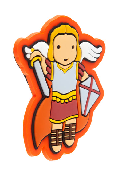 St. Michael Fridge magnet - Little Drops of Water