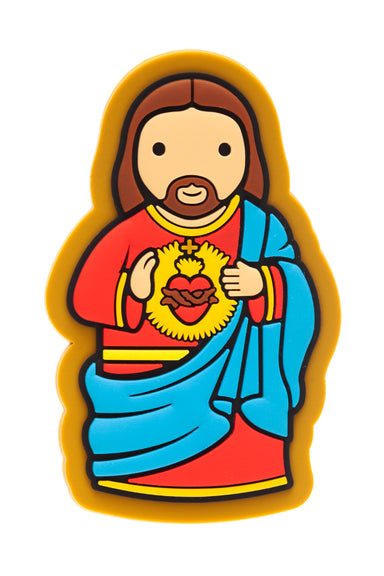 Sacred Heart fridge magnet - Little Drops of Water