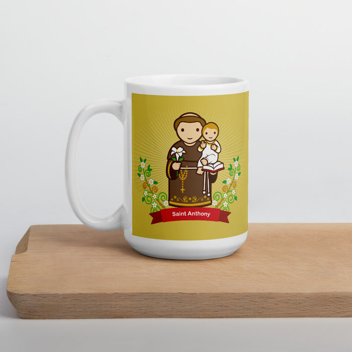 Saint Anthony mug - Little Drops of Water