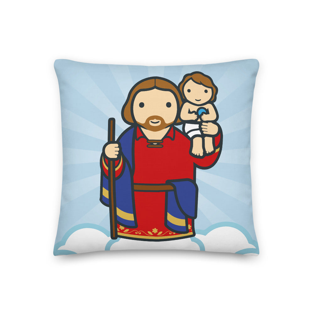 Saint Christopher Premium Pillow - Little Drops of Water