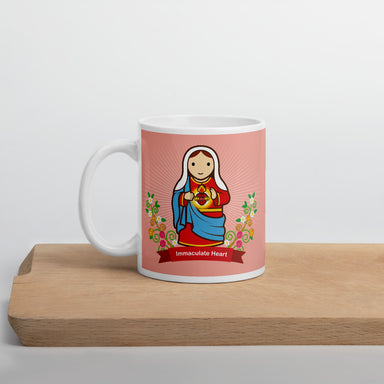 The Immaculate Heart mug - Little Drops of Water