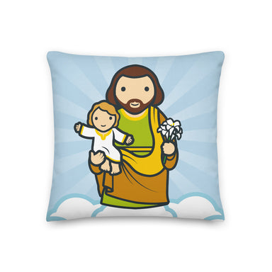 Saint Joseph Premium Pillow - Little Drops of Water