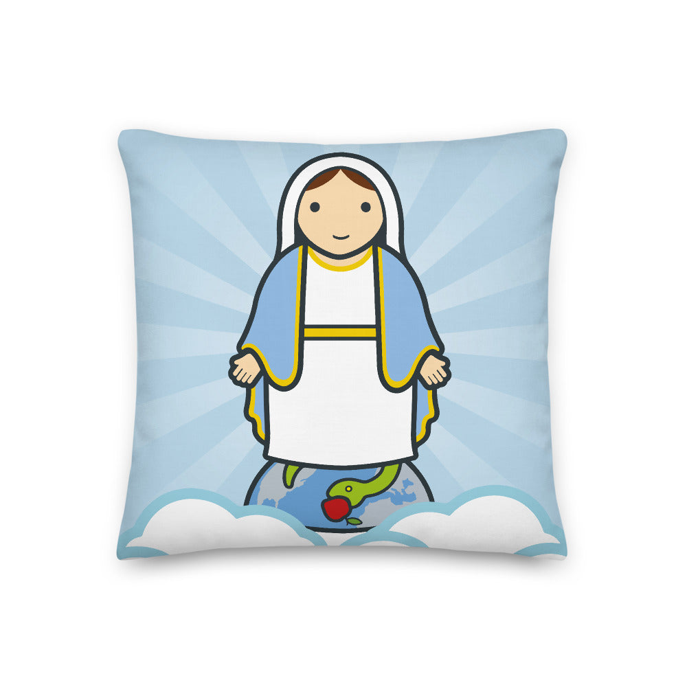 Lady of Grace Premium Pillow