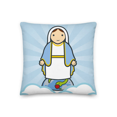 Lady of Grace Premium Pillow - Little Drops of Water
