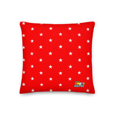 Immaculate Heart Premium Pillow - Little Drops of Water