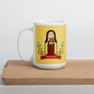 Saint Therese mug - Little Drops of Water