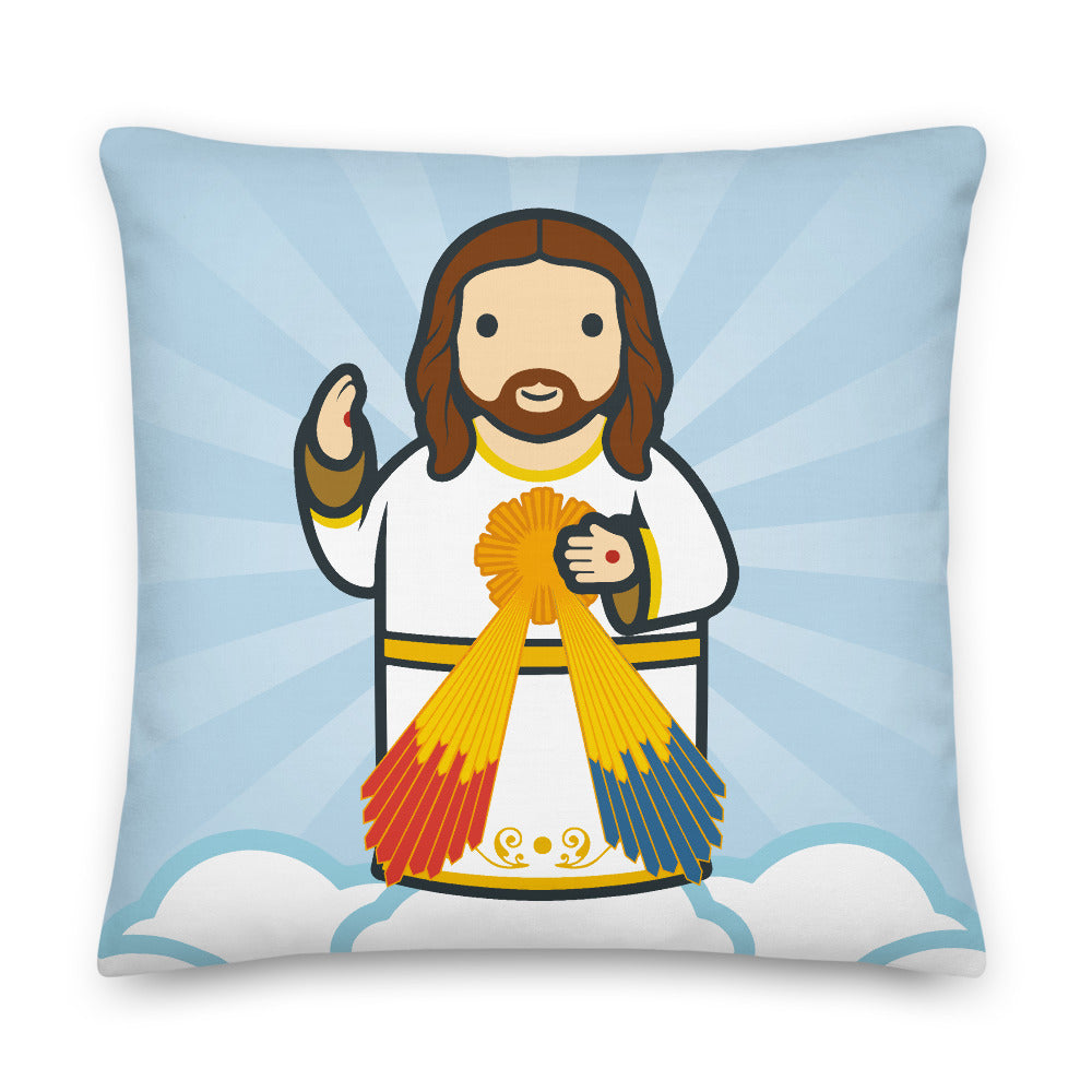 Divine Mercy Premium Pillow - Little Drops of Water
