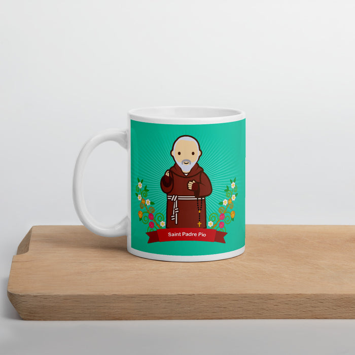 Saint Padre Pio mug - Little Drops of Water