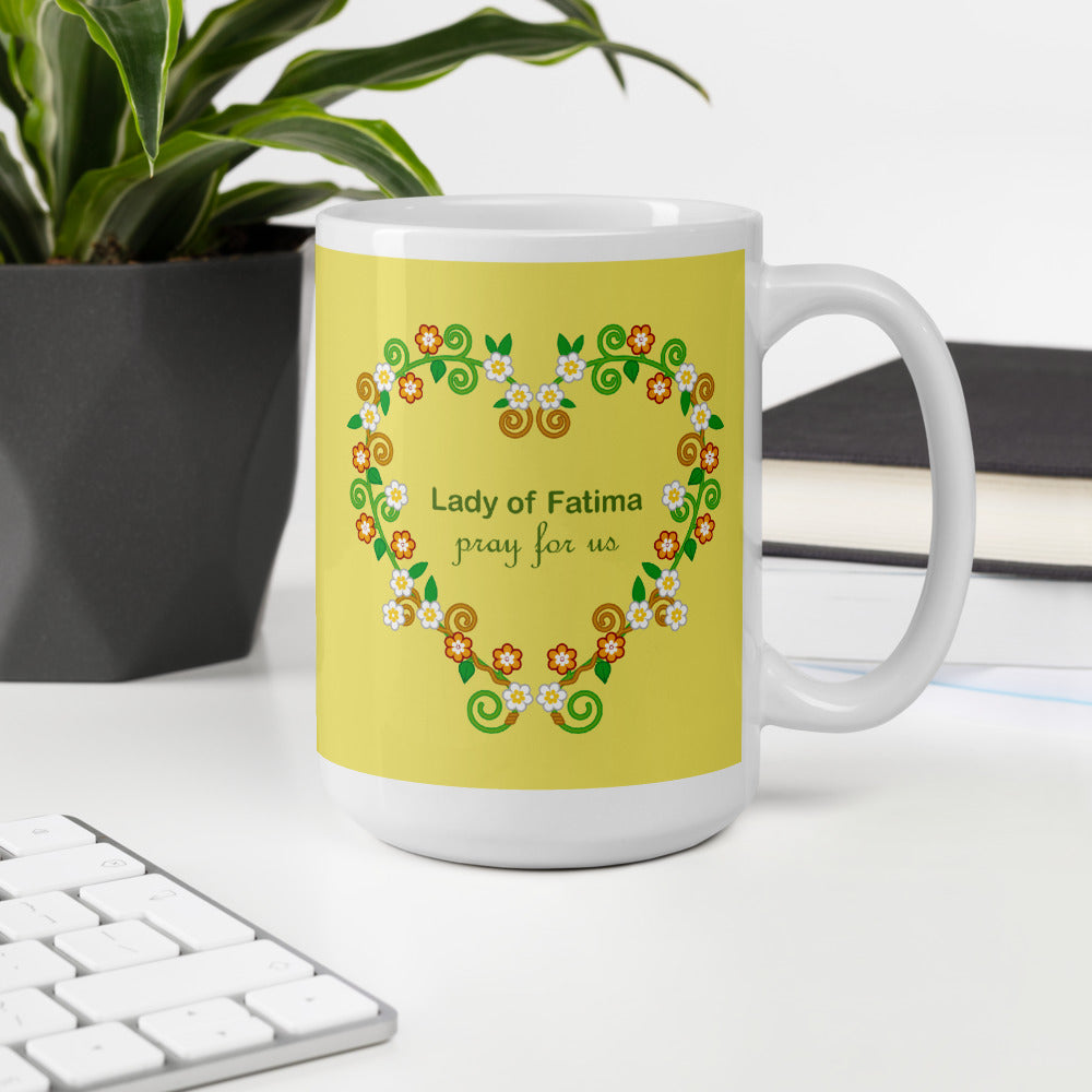 Lady of Fatima mug - Little Drops of Water