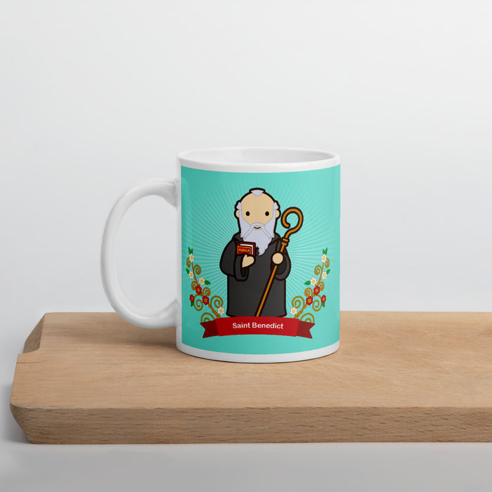 Saint Benedict mug - Little Drops of Water