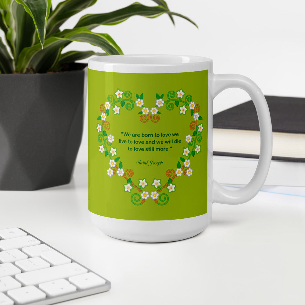 Saint Joseph mug - Little Drops of Water