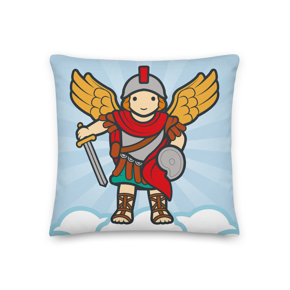 Saint Michael Premium Pillow