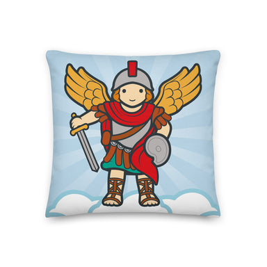 Saint Michael Premium Pillow - Little Drops of Water