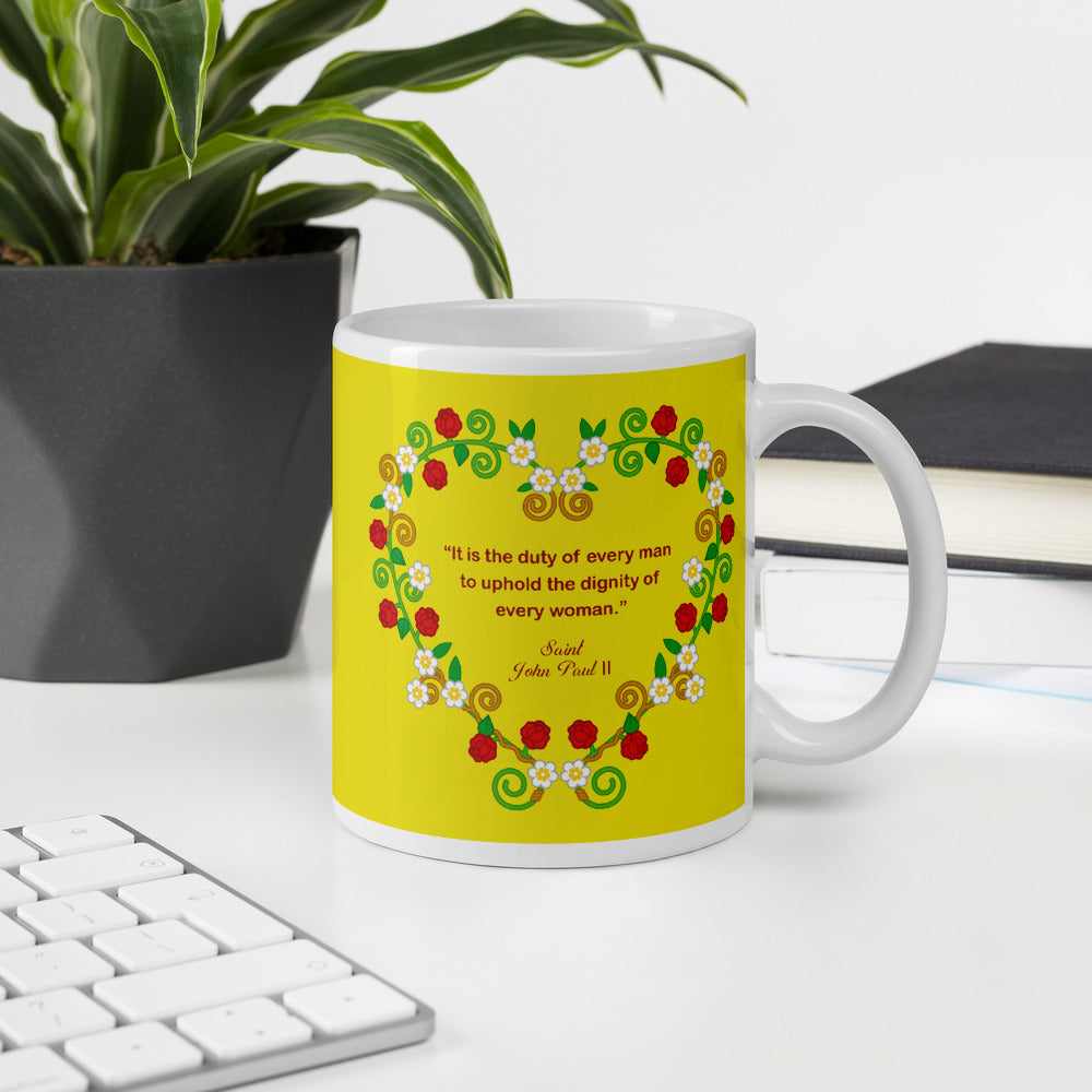 Saint John Paul II mug - Little Drops of Water