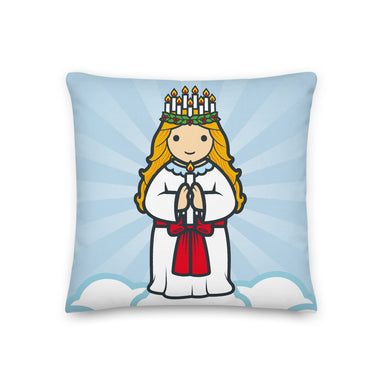 Saint Lucy Premium Pillow - Little Drops of Water