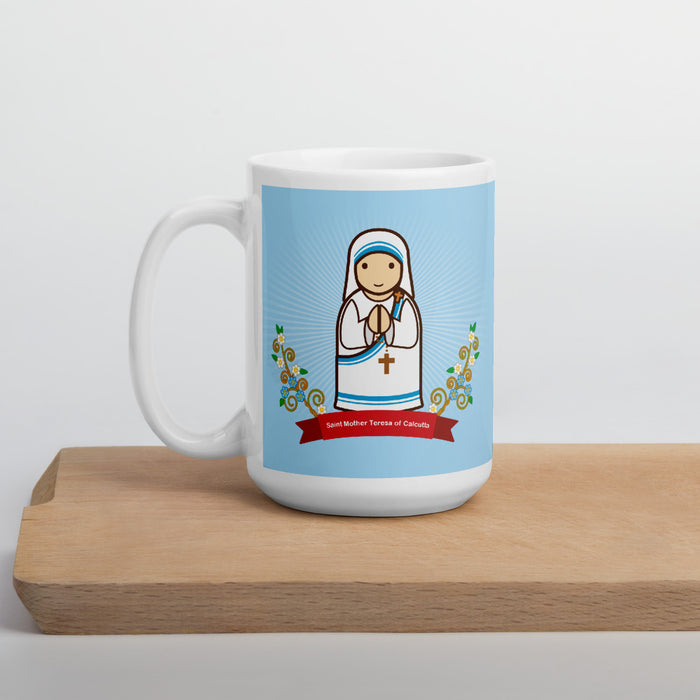 Saint Mother Teresa of Calcutta mug - Little Drops of Water