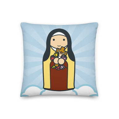 Saint Therese Premium Pillow - Little Drops of Water