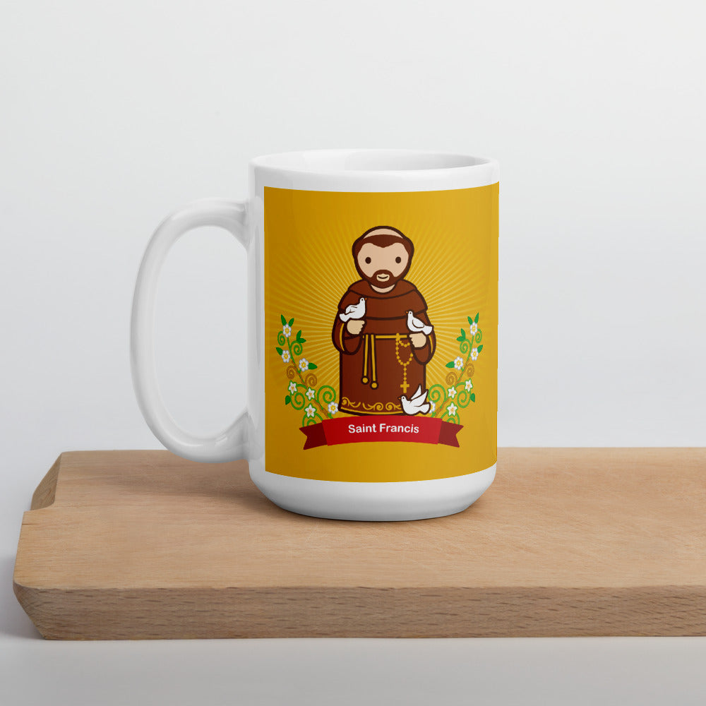 Saint Francis mug - Little Drops of Water