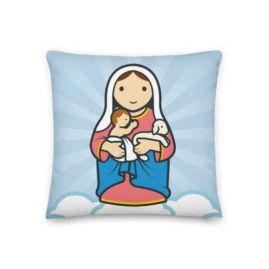 Madonna and child Premium Pillow - Little Drops of Water