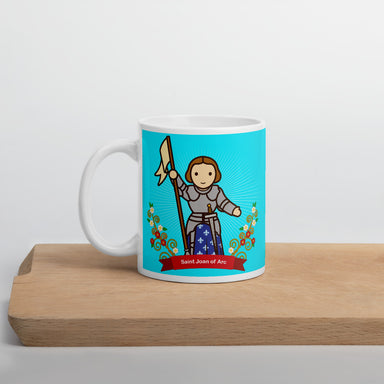 Saint Joan of Arc mug - Little Drops of Water