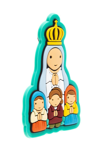 Lady of Fatima Apparition PVC magnet - Little Drops of Water