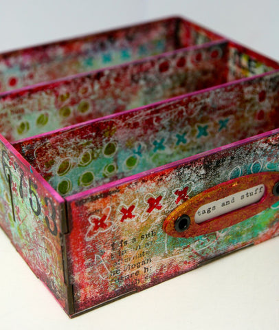 Tando Creative Ministry of Mixology Kate Crane Divided Tag Box