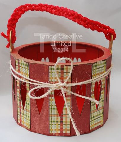 Tando Creative 3D Round Box Basket