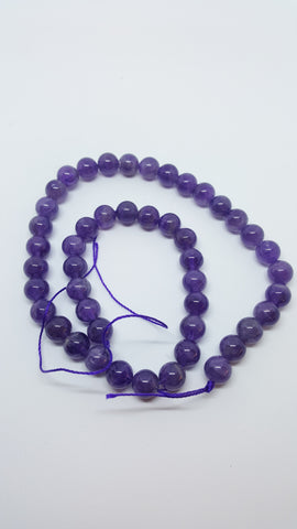 Amethyst Round Bead 8mm Approx 45 pcs TRC041