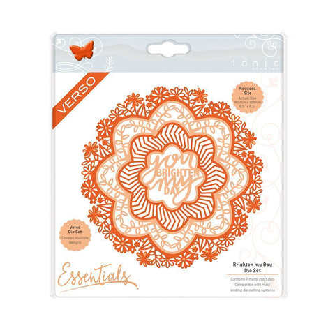 Tonic Dies - Perfect Posies - Brighten My Day Layering Die Set - 2172e