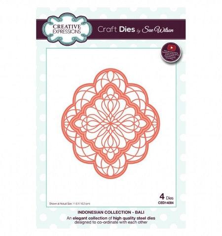 Indonesian Collection - Bali CED14004 Creative Expressions Cutting Die