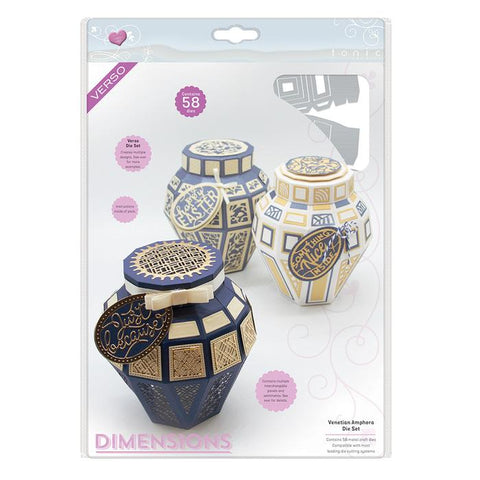 Venetian Amphora Die box Set 2602e By Tonic Studios