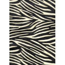 Decopatch Zebra Print Animal Paper 30x40cm 284