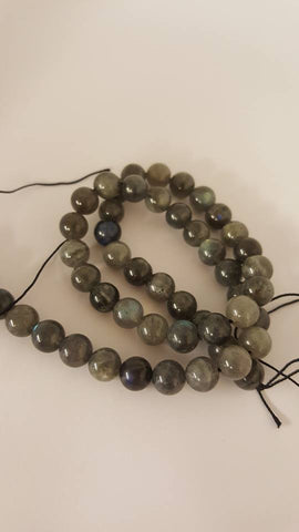 Grade AA Natural Gemstone Labradorite Round Beads 8mm, Hole: 1mm; approx 48pcs TRC419
