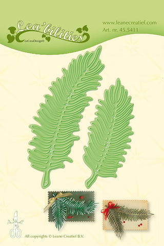 Lea-bilities Cutting & Embossing - Christmas Branches Ref: 45.5411